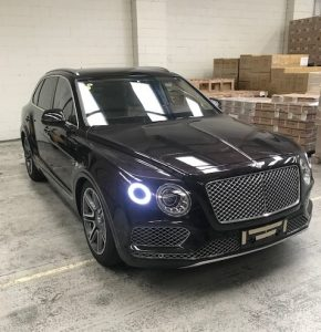 Bentley shipped by Acclaim's ERTS Service