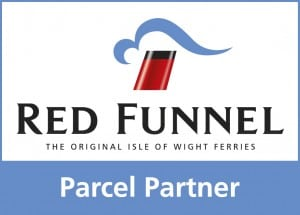 RF Parcel Partner Logo - Isle of Wight collection & delivery service
