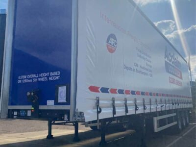 new trailer for pallet delivery company in Southampton