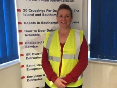 Jo Jo Hampson, Isle of Wight Customer Service Manager